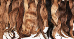 Selecting a Wig Colour