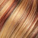 33R27F-Medium Natural Red/Medium Red-Gold Blonde Highlights