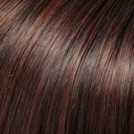 4/33-Dark Brown/Dark Red Blend