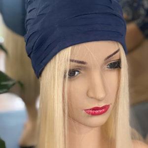 Blue Navy Textured Cap